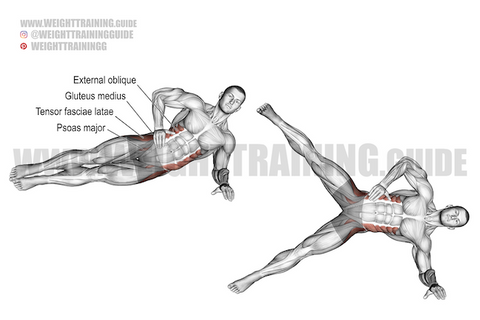 hip abduction exercise at home