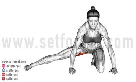 hip adductor stretches at home