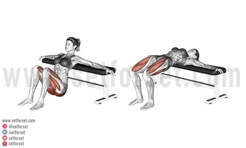 hip extension exercises for glutes