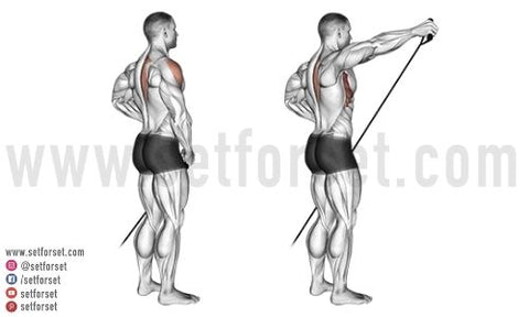 how do you isolate the side delts