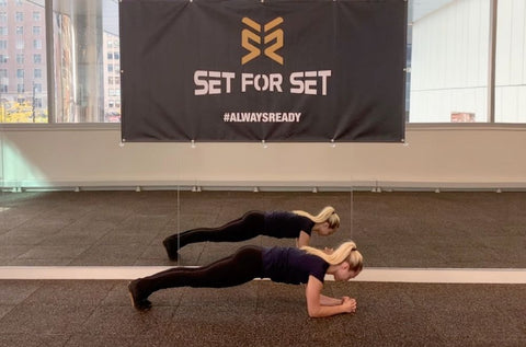 how to do a front plank