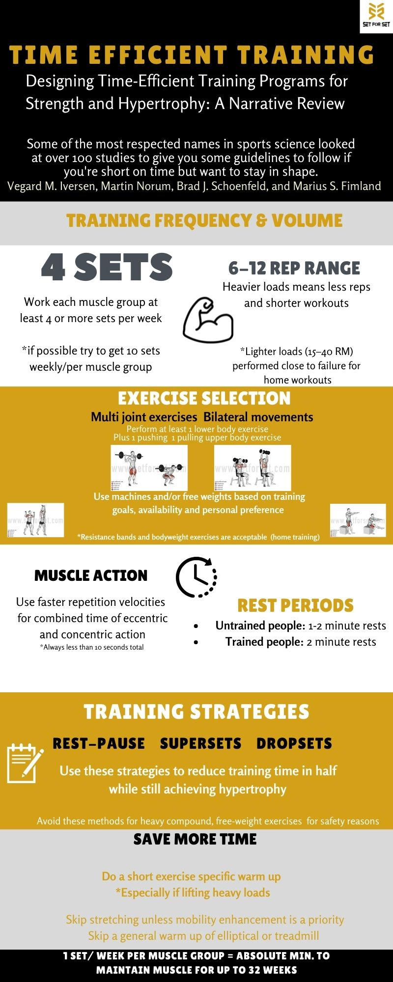 how to workout efficiently