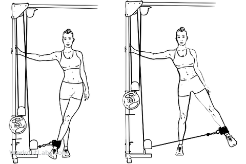how to get round hips