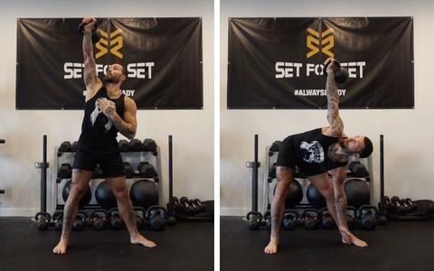how to train legs with kettlebells
