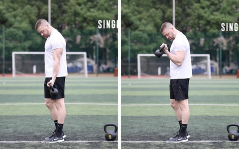 how to use kettlebells for biceps