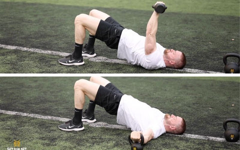 kettlebell chest exercises without bench