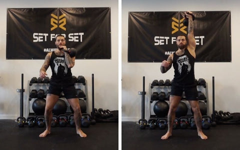 kettlebell exercises to build muscle