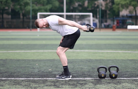 kettlebell tricep workout