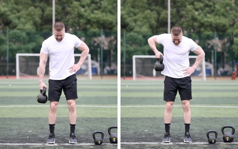 kettlebell workouts for arms