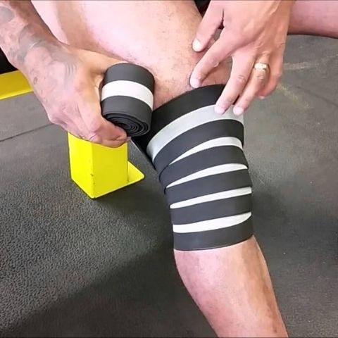 knee wraps for lifting