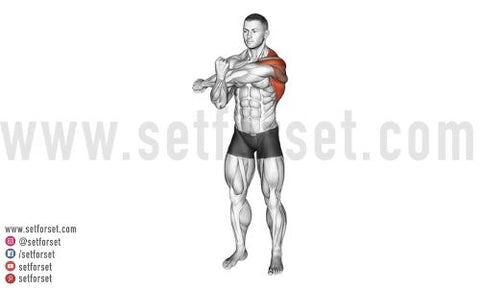 lateral deltoid stretches