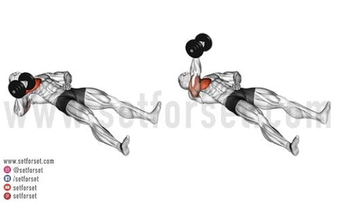 lower chest dumbbell exercises no bench