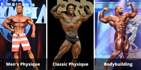 The 6 Major Bodybuilding Competitions and Divisions for Men & Women Explained
