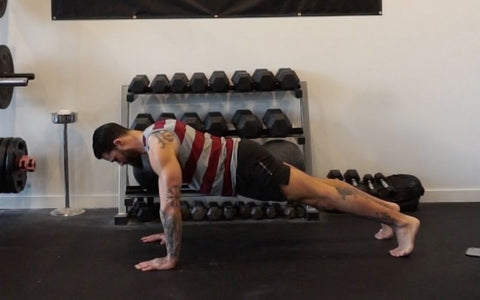 pec workout without weights