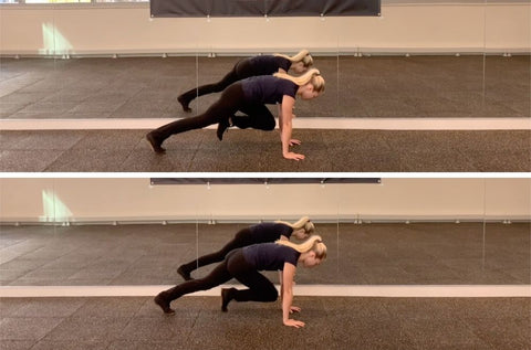 plank variations easy to hard