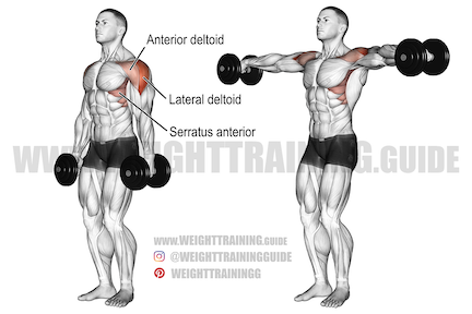 lateral pushing exercises