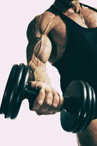 pull exercises with dumbbells