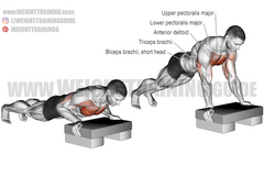 pushing exercises at home