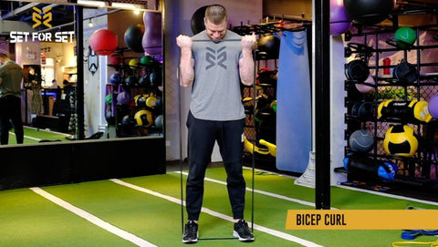 resistance band arm exercises