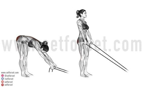 resistance band back extension