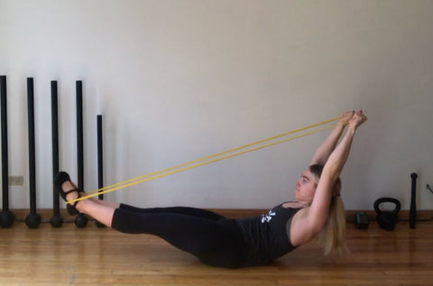 resistance band exercises abs