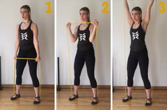 full body resistance band exercises to burn calories