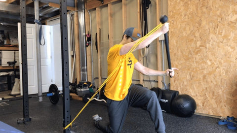 resistance band oblique exercises