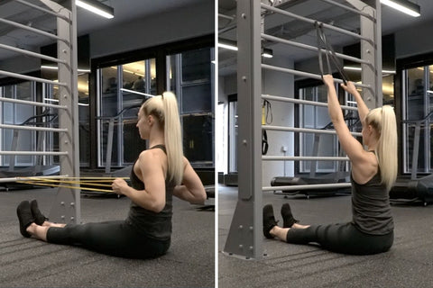 resistance band pulling exercises