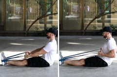 rhomboid exercises with resistance bands