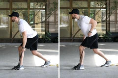 rhomboid strengthening exercises with bands