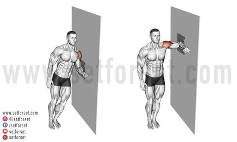 side delt exercise without weights