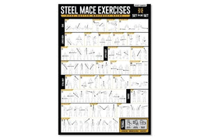 steel mace exercise poster