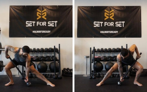 steel mace exercises for glutes