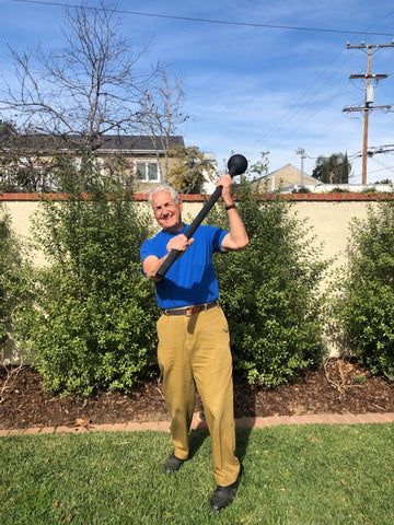 steel mace workout for seniors and older people