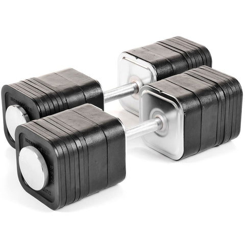 types of plate loaded dumbbells