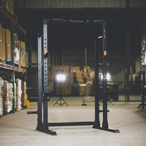 what is the difference between a power rack and a squat rack