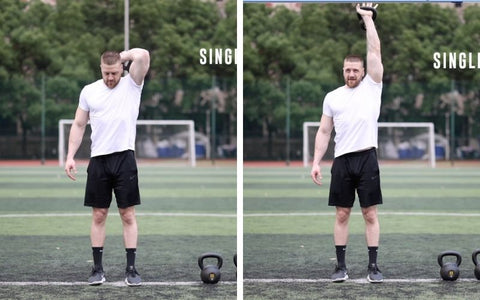 what kettlebell exercises are good for triceps