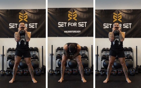 what kettlebell exercises work what muscles