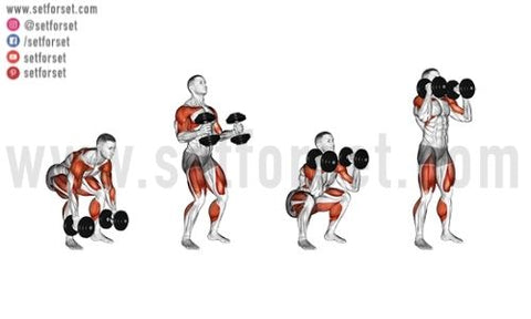 whole body dumbbell workout