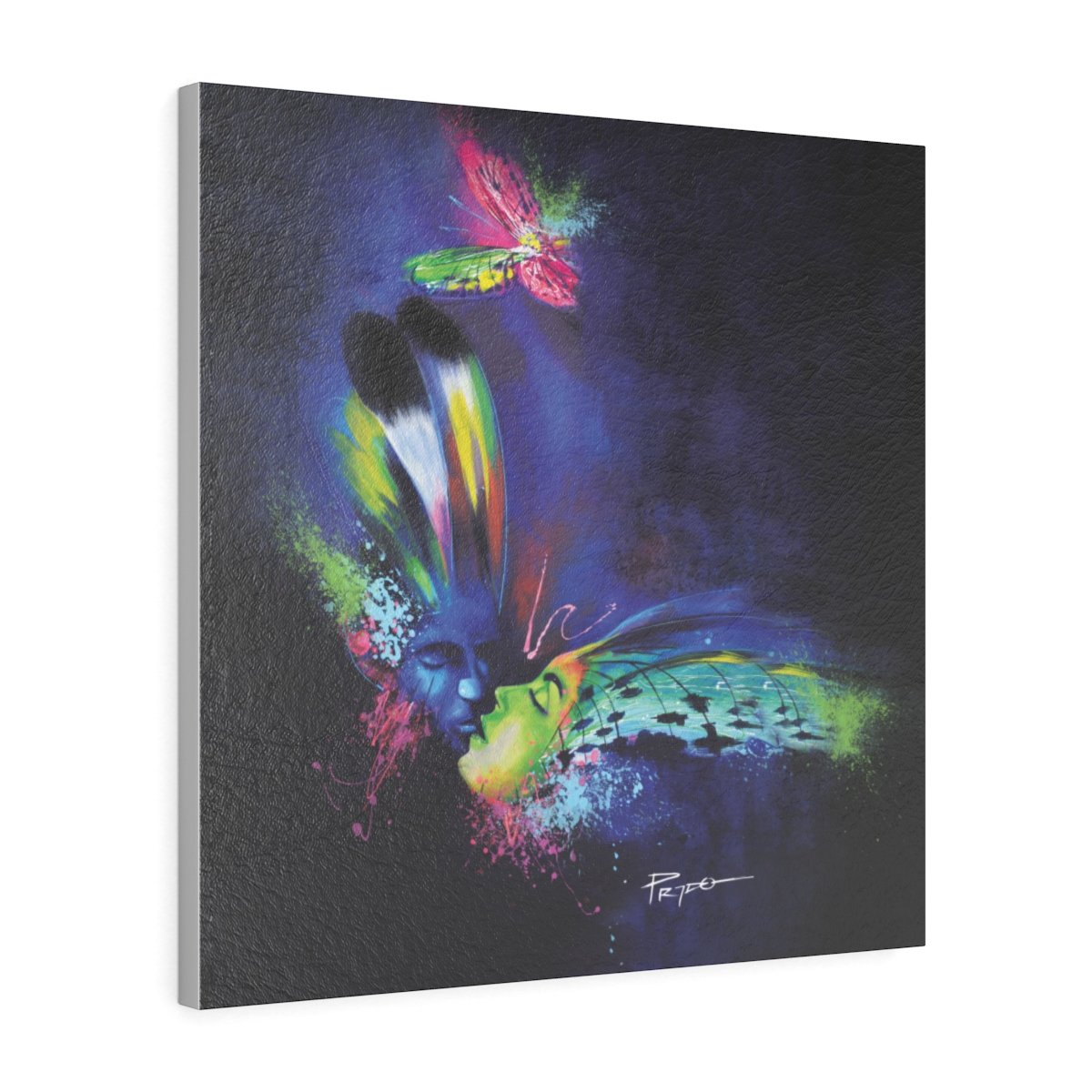 BUTTERFLY KISS | Canvas Gallery Print