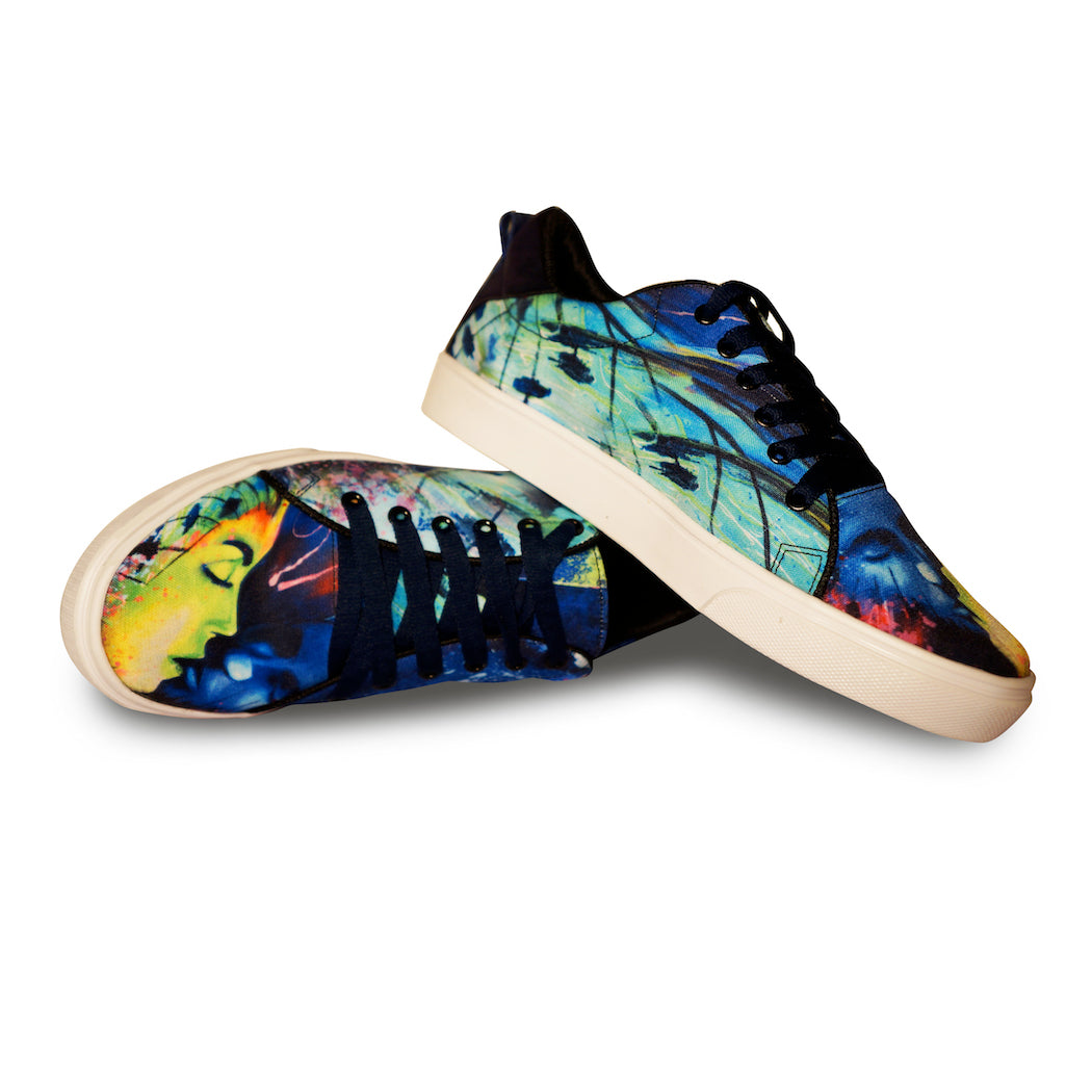 BUTTERFLY KISS | Top Print Sneakers