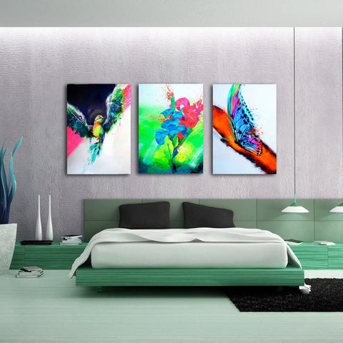 HUMMING BIRD | Canvas Gallery Print