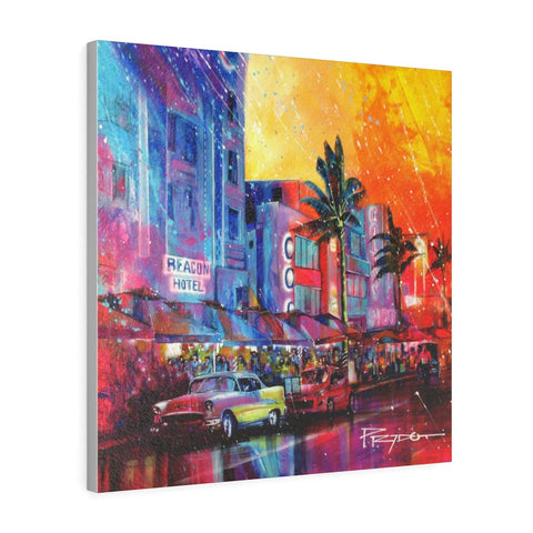 OCEAN DRIVE | Canvas Gallery Print