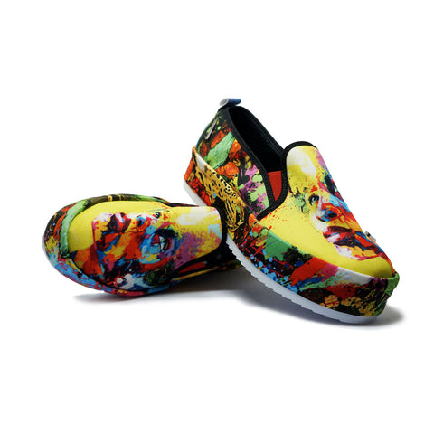 BEAUTIFUL MIND | Full Print Loafer Shoes