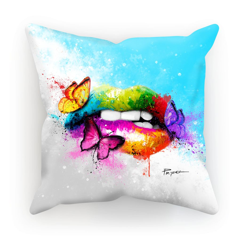 BUTTERFLY LIPS | Pillow Cushion