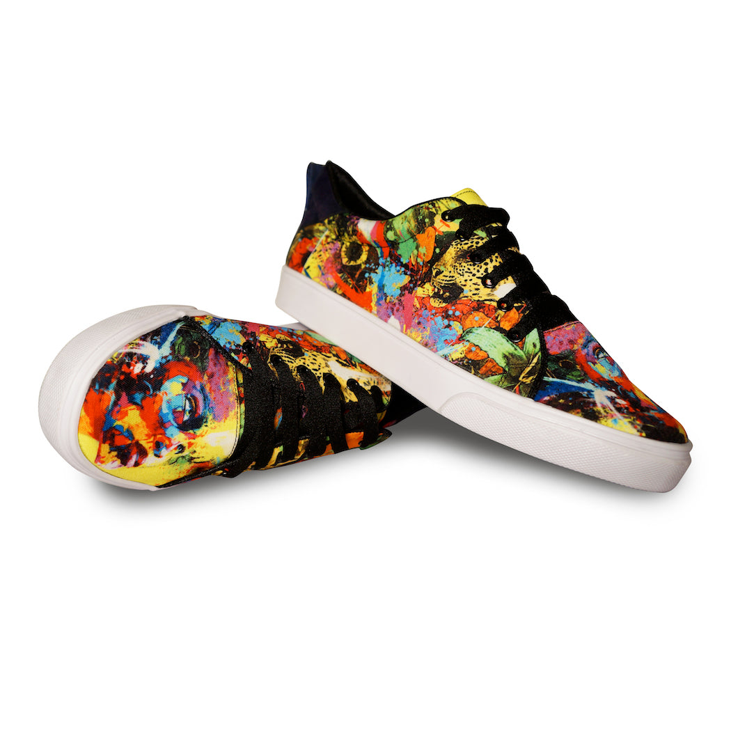 BEAUTIFUL MIND | Top Print Sneakers