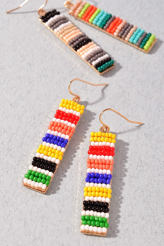 Bead Bar Earrings
