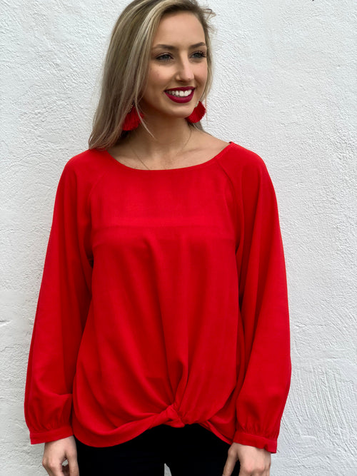 Front Twist Blouse