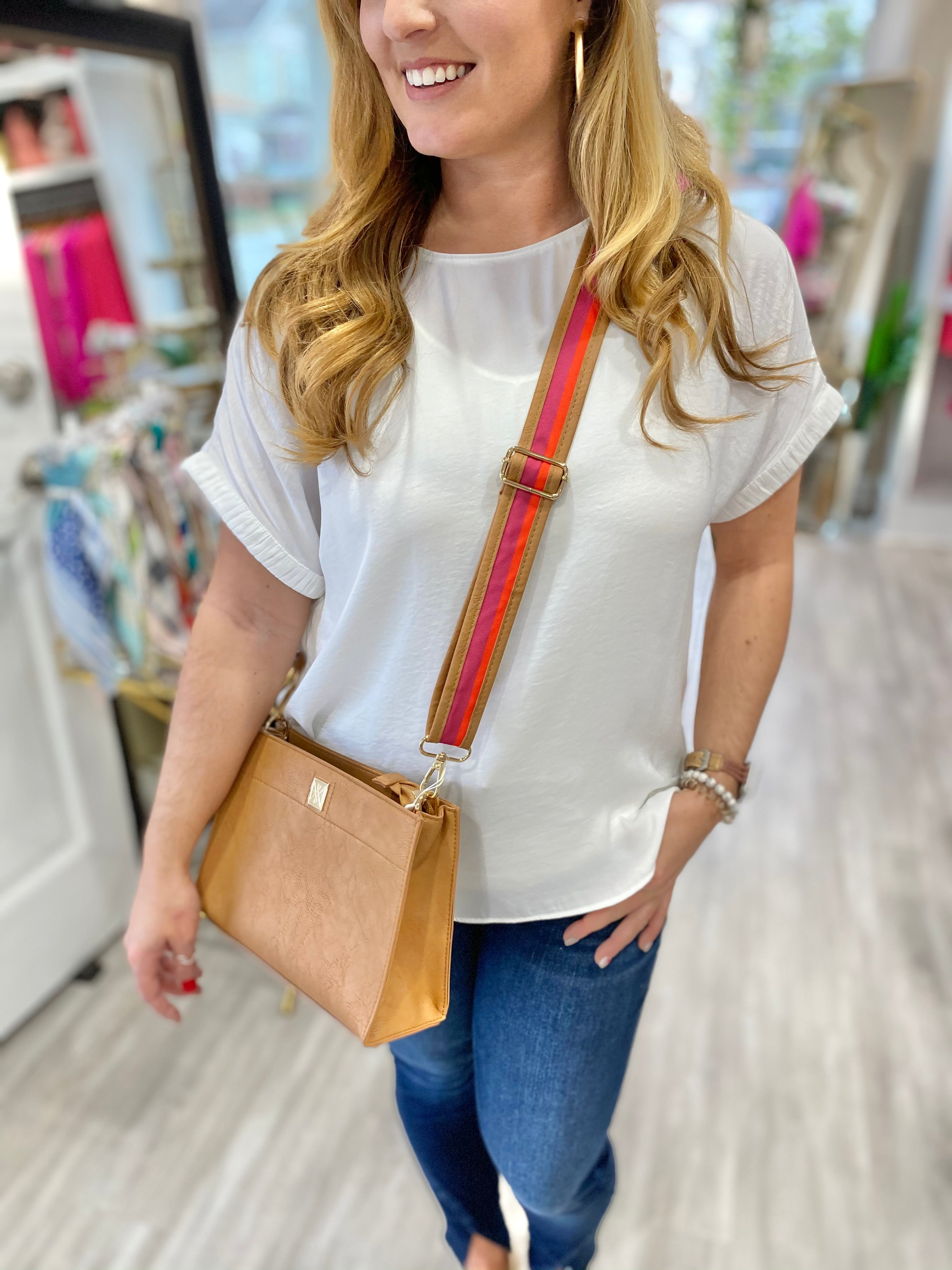 Linen Blend Collared Top
