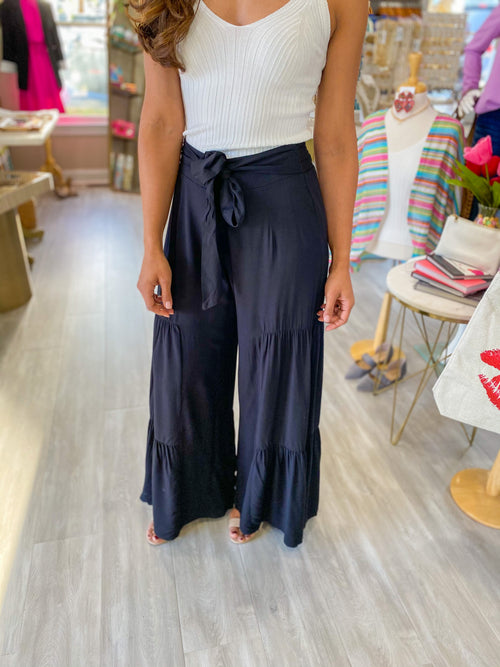 Tiered Wide Pants
